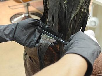リバイバル美容液ヘアカラープロセス6
