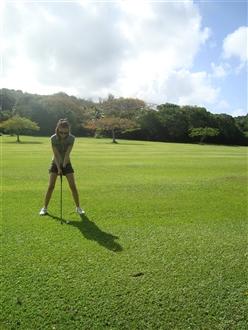 こちらも初ゴルフの初ラウンド!!!楽しかったようなので、今後にも期待です!