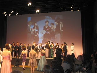 さてさて結果は?   審査員特別賞!!!実質第4位という結果でした。「おめでとう」全国で第4位ですからそれはそれはすごいことです!!!