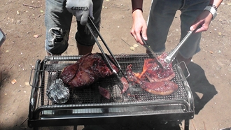 でも、簡単に切れてしまうくらいやわらかいお肉なんですよ~