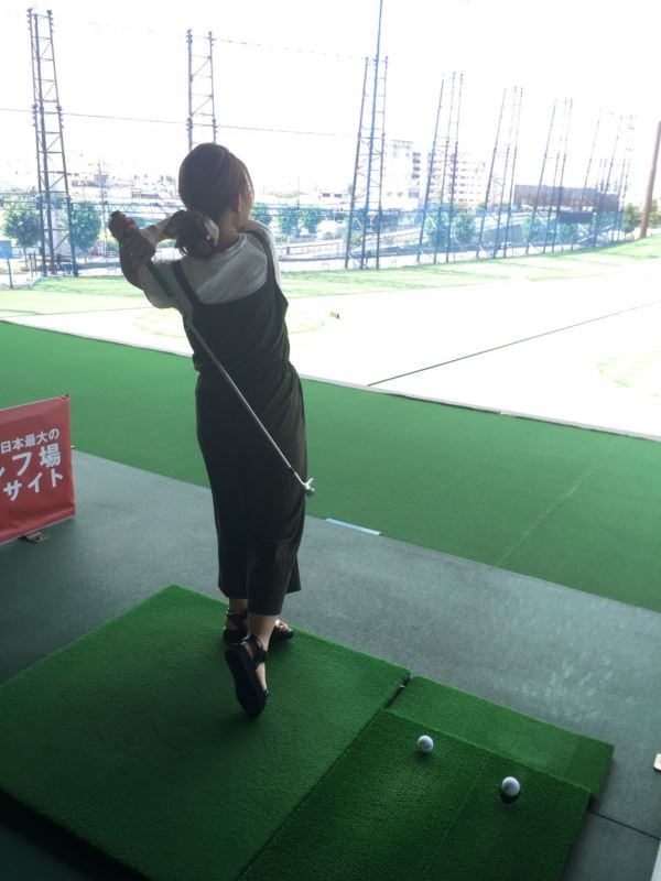 MAYU      人生初のゴルフです☆