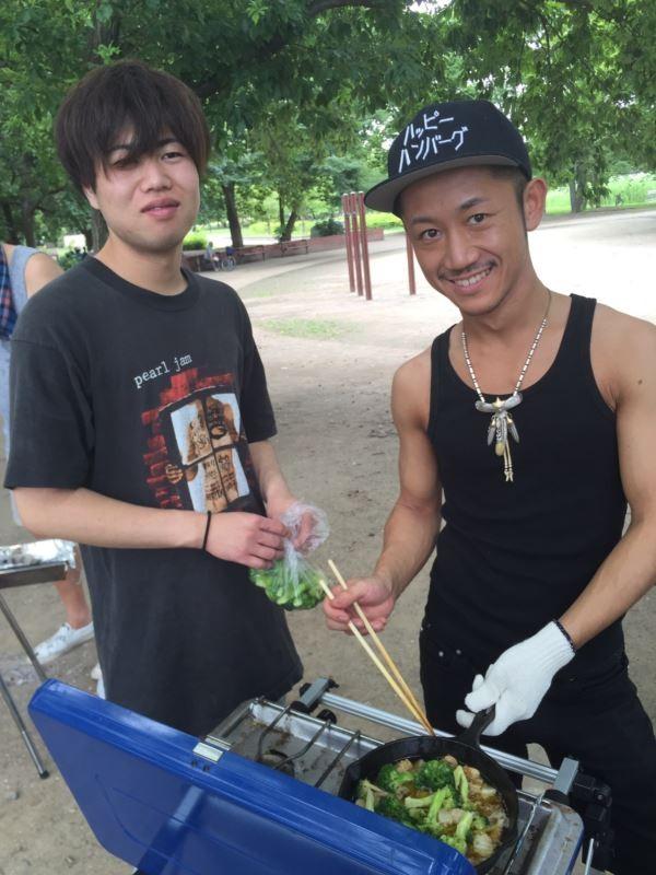 AKIRA'Sアヒージョ★えびとブロッコリー  【助手TAKA】