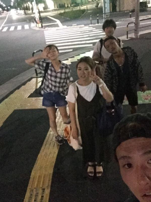 車8人乗りでやっと梅島に到着!!岩井さん運転お疲れ様です!!!!